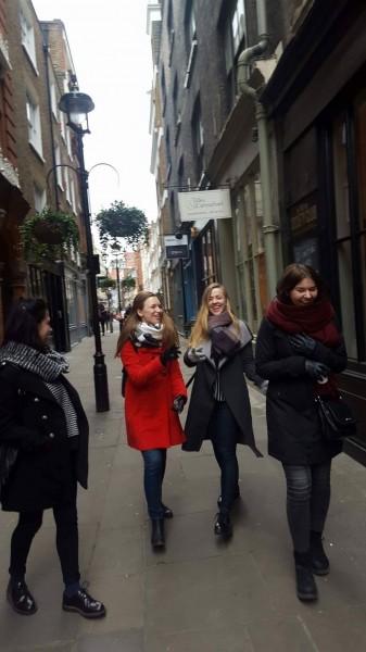 living in london
